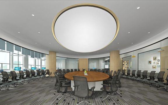 800平米現代風水蔭路辦公室裝修效果圖