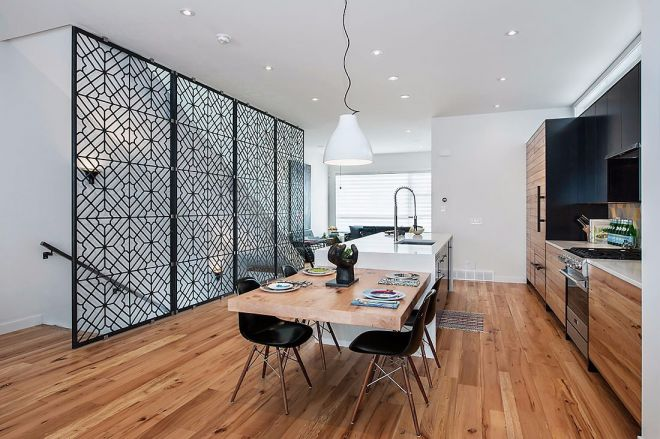 北欧风格96平米四室两厅新房装修效果图
