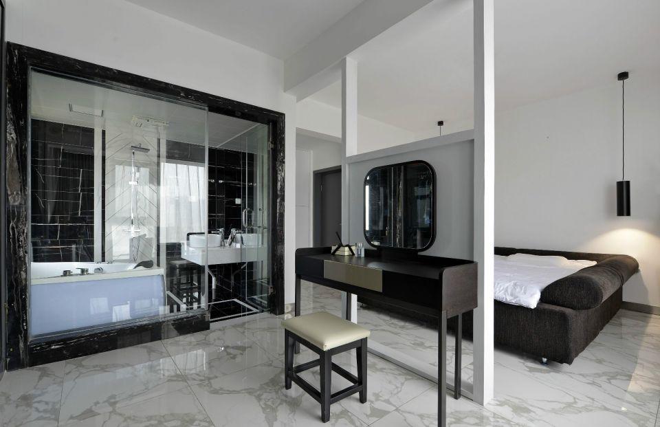 卧室梳妆台现代风格装饰图片