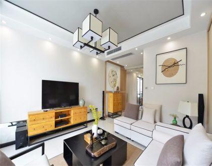 110平现代风三居室装修效果图