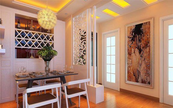 餐厅灯具现代简约风格效果图