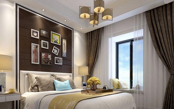 154平4房2厅3卫现代简约装修效果图