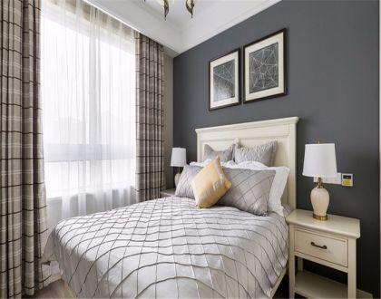 唯美卧室美式装修实景图片
