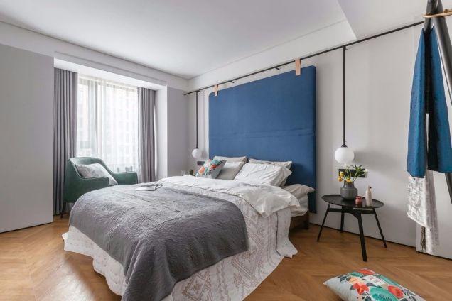 沉稳卧室现代简约室内装饰