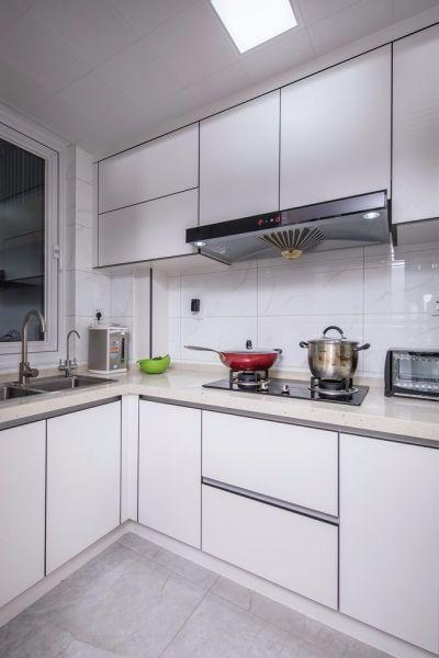 厨房橱柜现代简约室内效果图