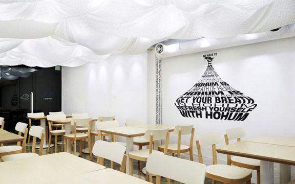 150平现代简约风锦苑岚庭公装茶餐厅装修效果图