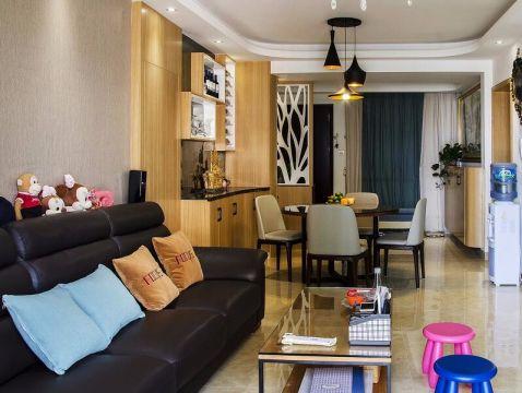 北欧风格130平米四室两厅新房装修效果图