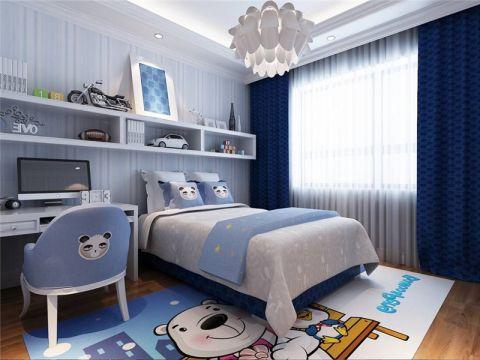 现代简约儿童房灯具装修设计图片
