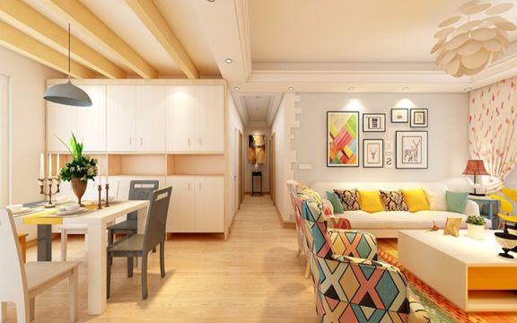 170平北欧风格4居室新毛坯房装修效果图