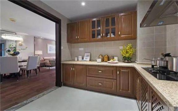 120平米混搭风格三居室装修效果图