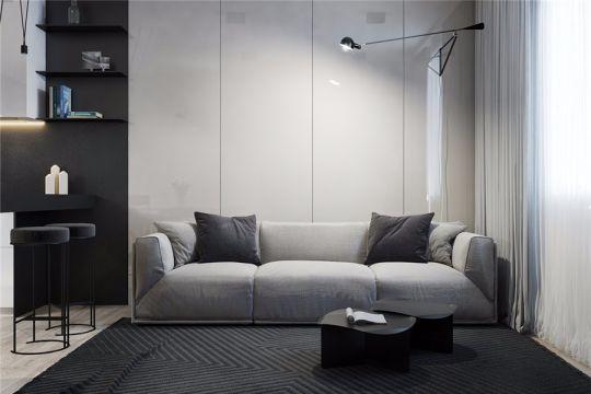 160平方现代简约套房装修效果图