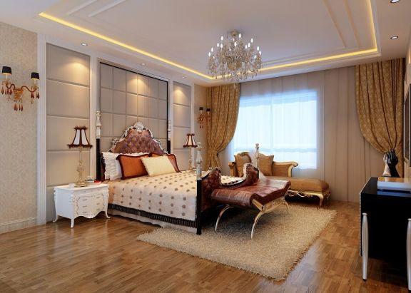 简欧风格350平米别墅室内装修效果图