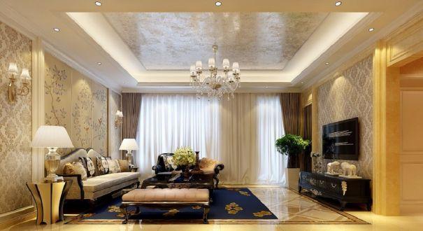 新古典风格330平米别墅新房装修效果图