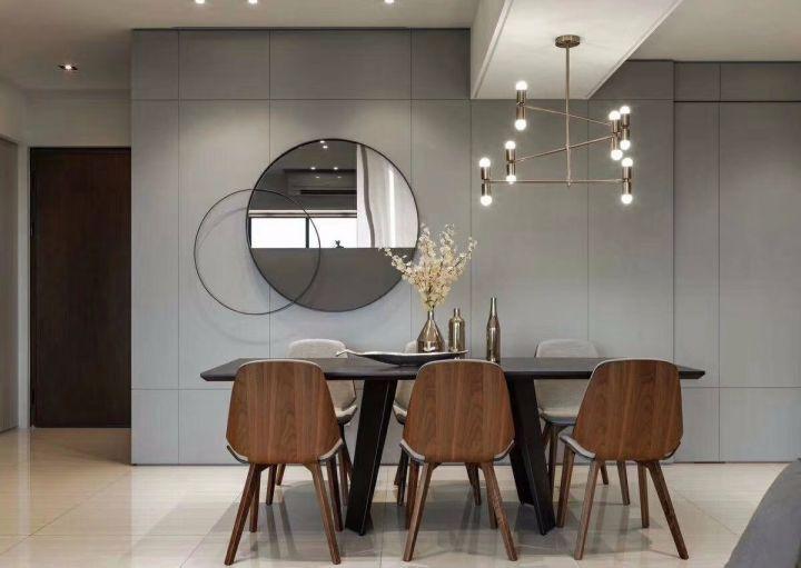现代风格170平米大户型室内装修效果图