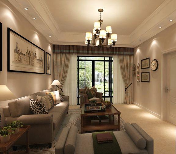 简欧风格170平米大户型室内装修效果图