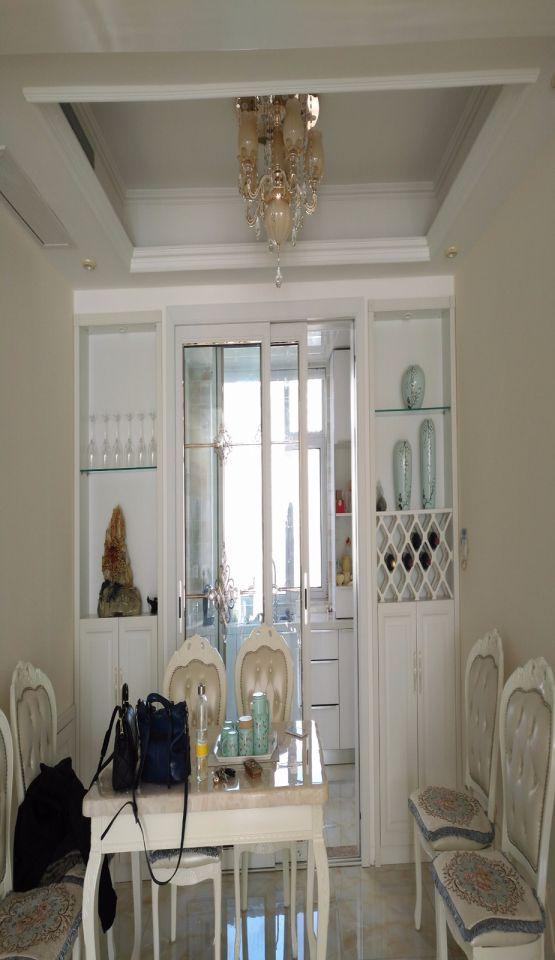 混搭风格170平米楼房室内装修效果图