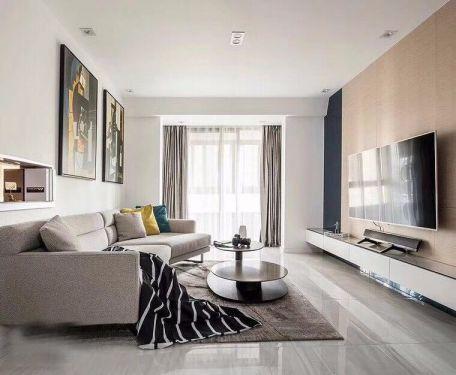 110平现代简约风格套房装修效果图