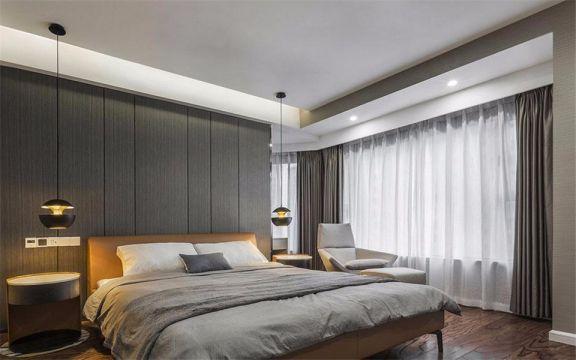 沈阳世纪家园115平现代风格装修案例