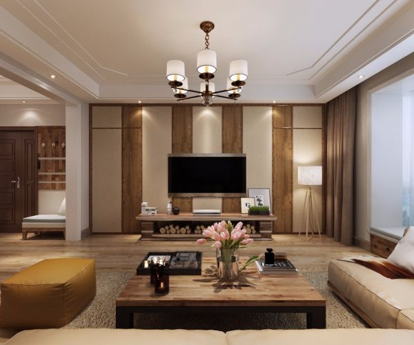 瑞府别墅四居三卫280平米北欧风格装饰设计效果图