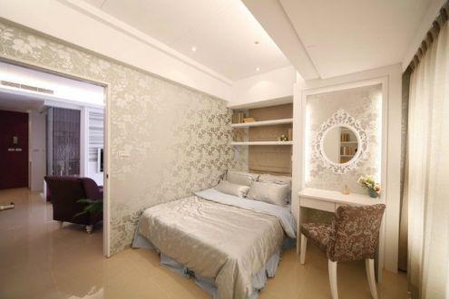 现代欧式风格125平米三室两厅新房装修效果图