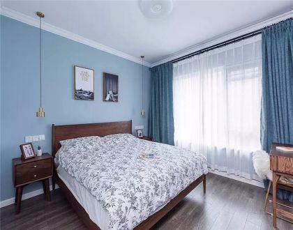 86平北欧风两居室装修效果图