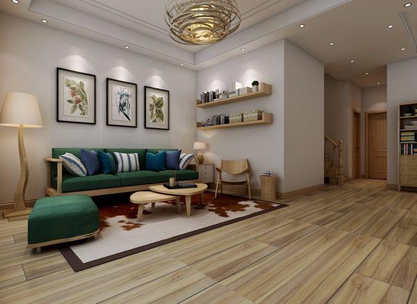 日式风格280平米别墅室内装修效果图