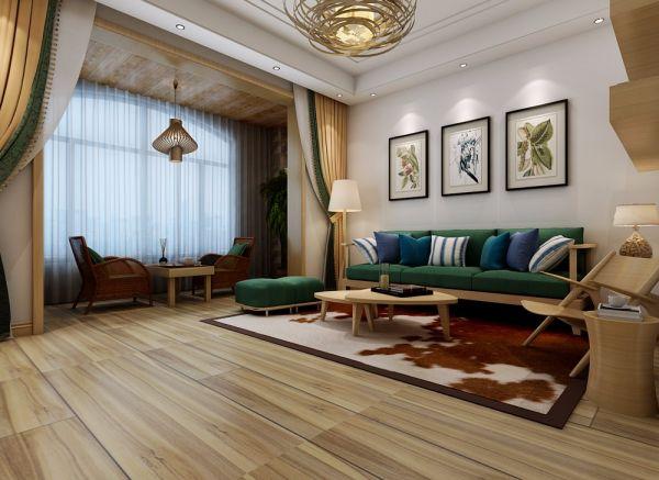 藏龙镇联排别墅280平米五居三卫日式风格装修效果图