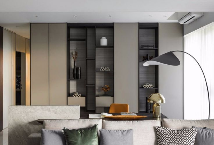 96平北欧风格二居室装修效果图