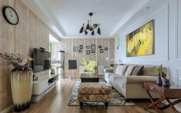 133平米盛世睿园美式风格二居室效果图