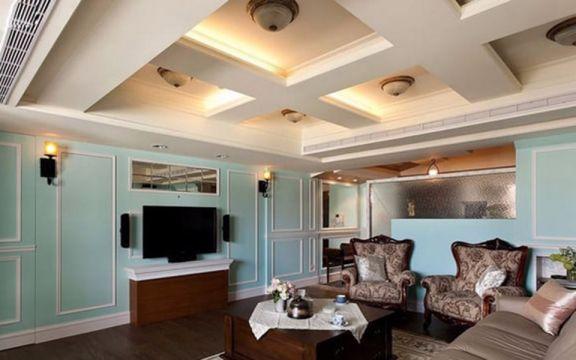 美式风格242平米别墅室内装修效果图