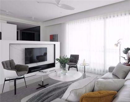 80平简约两居室装修效果图