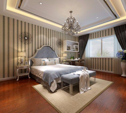 简欧风格420平米别墅室内装修效果图
