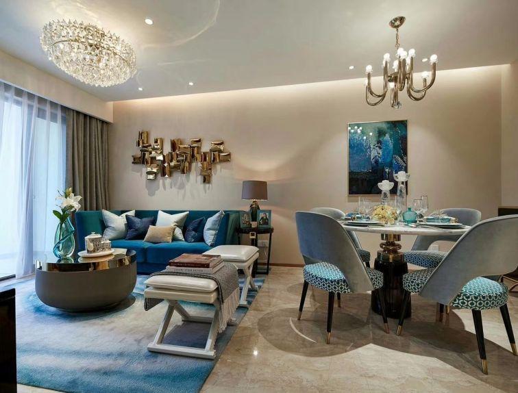 2018后现代90平米装饰设计 2018后现代二居室装修设计