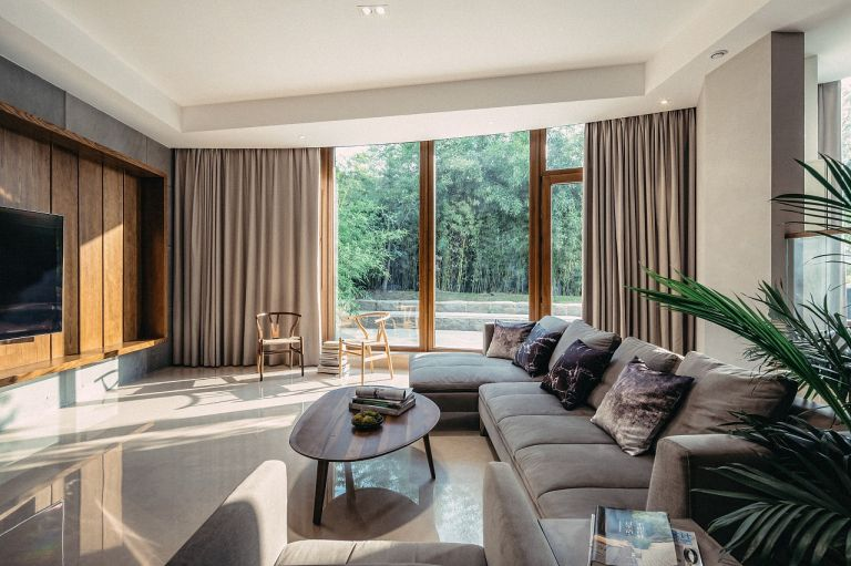 新中式风格170平米复式室内装修效果图