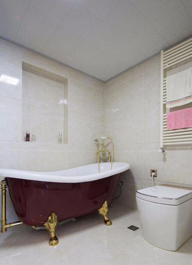 120平欧式风格三居室效果图
