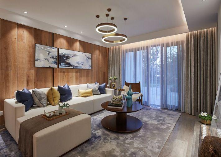 92平北欧风格二居室装修效果图