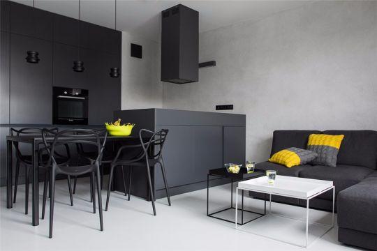 2019现代70平米设计图片 2019现代二居室u乐娱乐平台设计