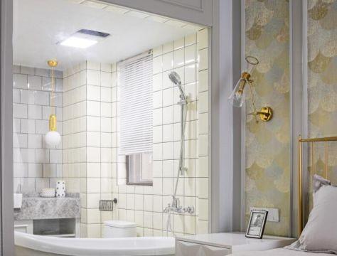 133方美式风格三居室装修效果图