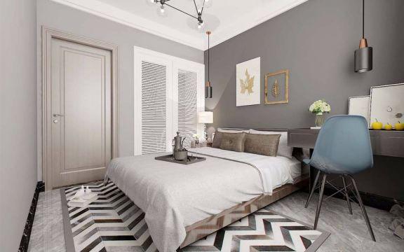 2019后现代70平米设计图片 2019后现代二居室装修设计