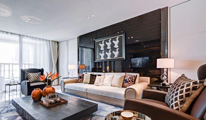 280平现代风格四居室装修效果图