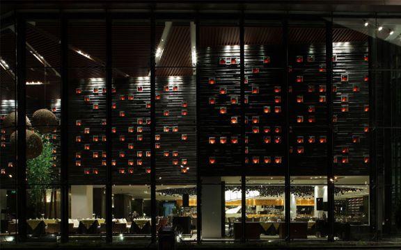 500平现代简约风腾龙阁餐厅装修效果图