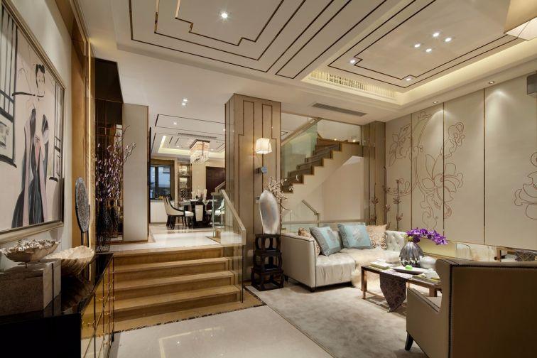 170平新中式风格三居室装修效果图