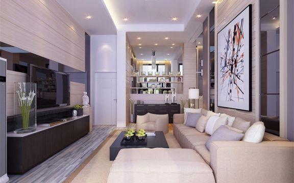170平现代简约风格3房2厅装修效果图
