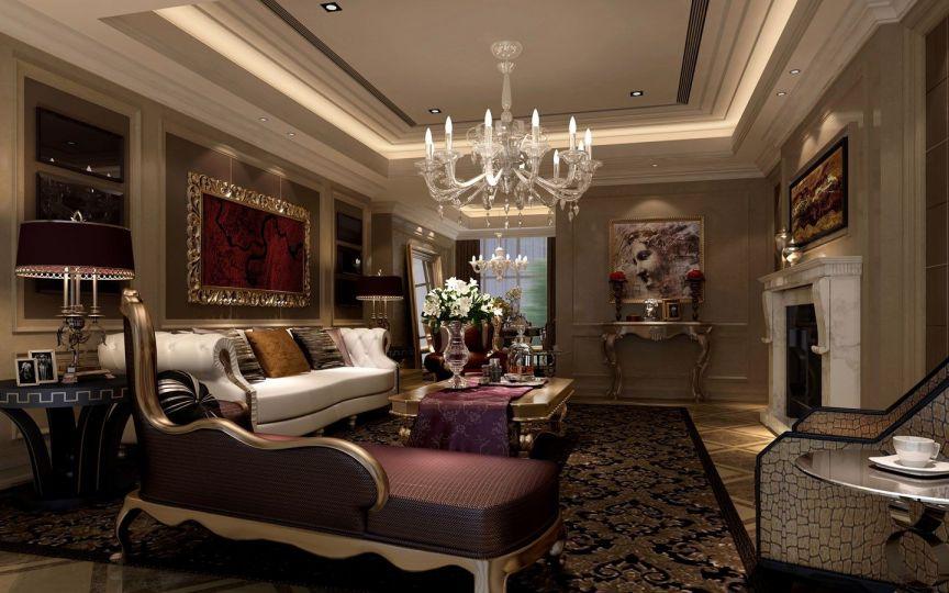 180平欧式风格四居室装修效果图