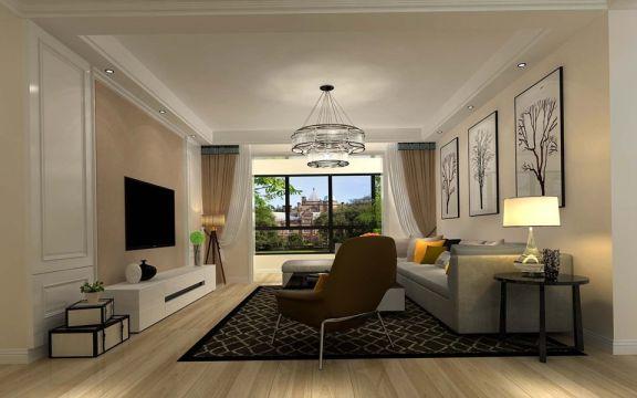 157平简约风格四居室装修效果图