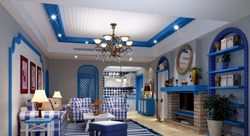280平地中海风格5室2厅3卫装修效果图