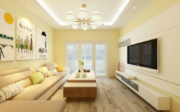 110平简约风格四居室装修效果图