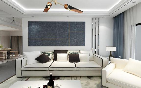 170平现代风格套房装修效果图