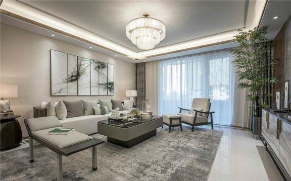 170平新古典风格四居室装修效果图