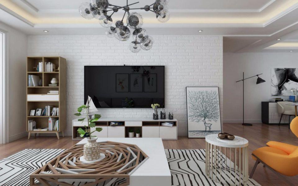 2020北欧110平米装修设计 2020北欧四居室装修图